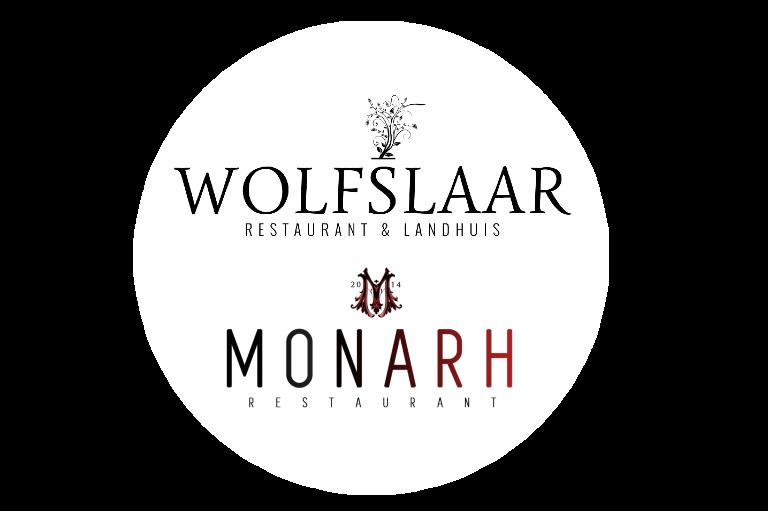 wolfslaar en monarh logo